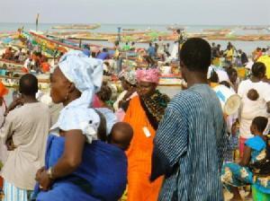 Mbour fish market (Gulpoppy, Nov 2007)
